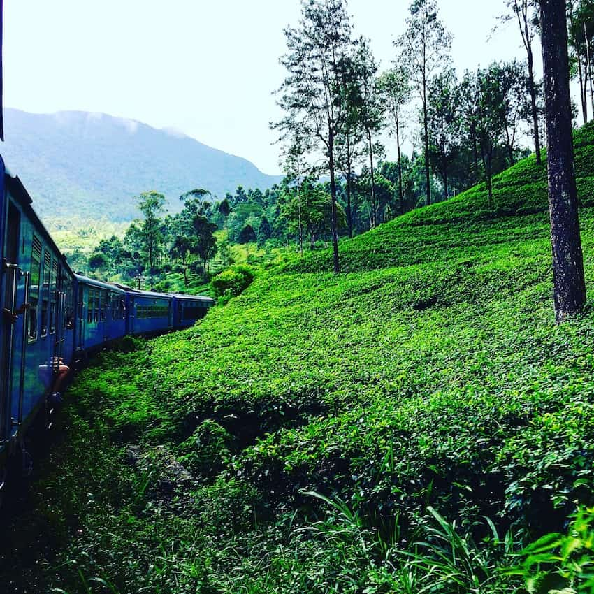 Things to do in Kandy Sri Lanka with kids - Ride the Kandy to Ella train in Sri Lanka