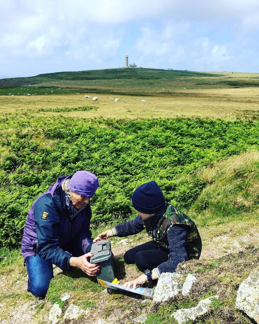 letterboxing on lundy island north devon