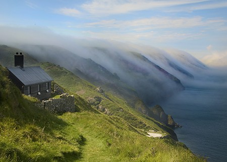 Lundy island mist north devon