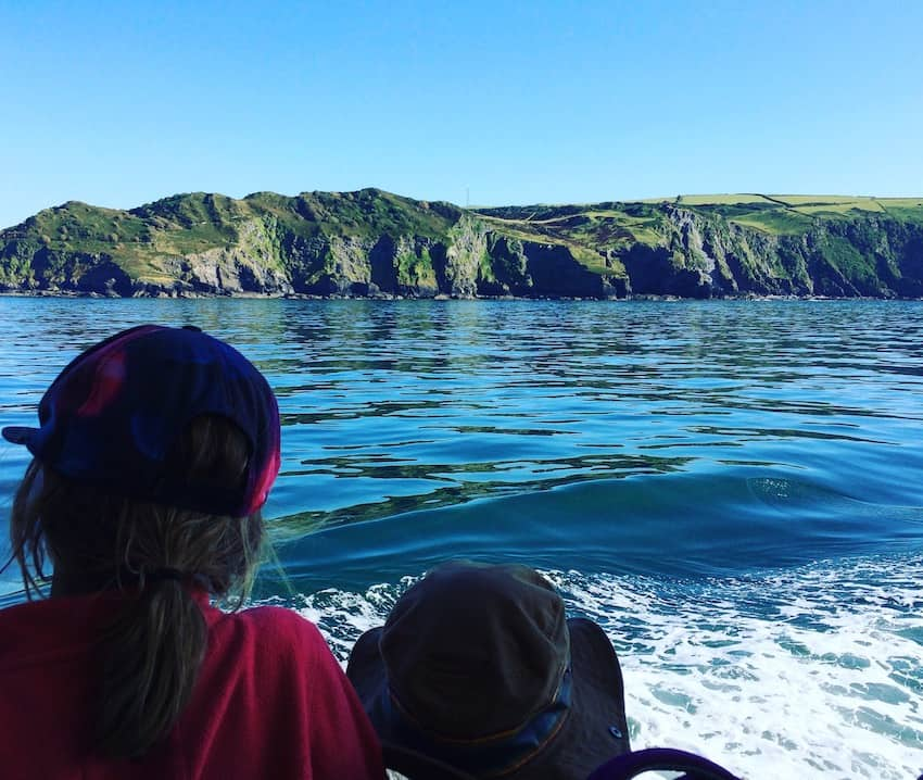 lundy island dolphin watching north devon