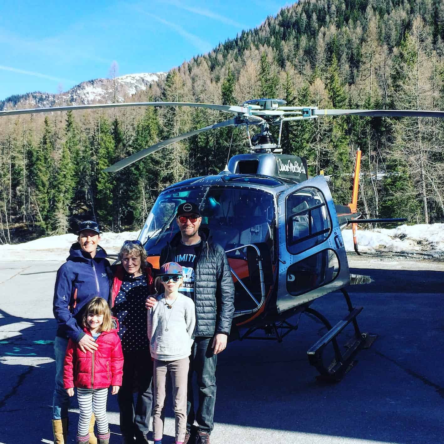 chamonix for families, mont blanc helicopters, vol hélicoptère mont blanc, chamonix helicopter tour price