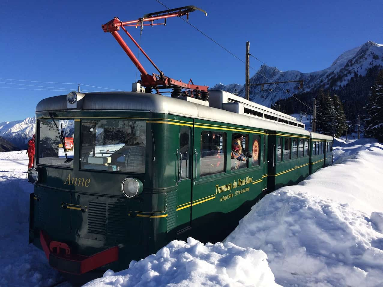 Mont Blanc Tramway Chamonix winter activities