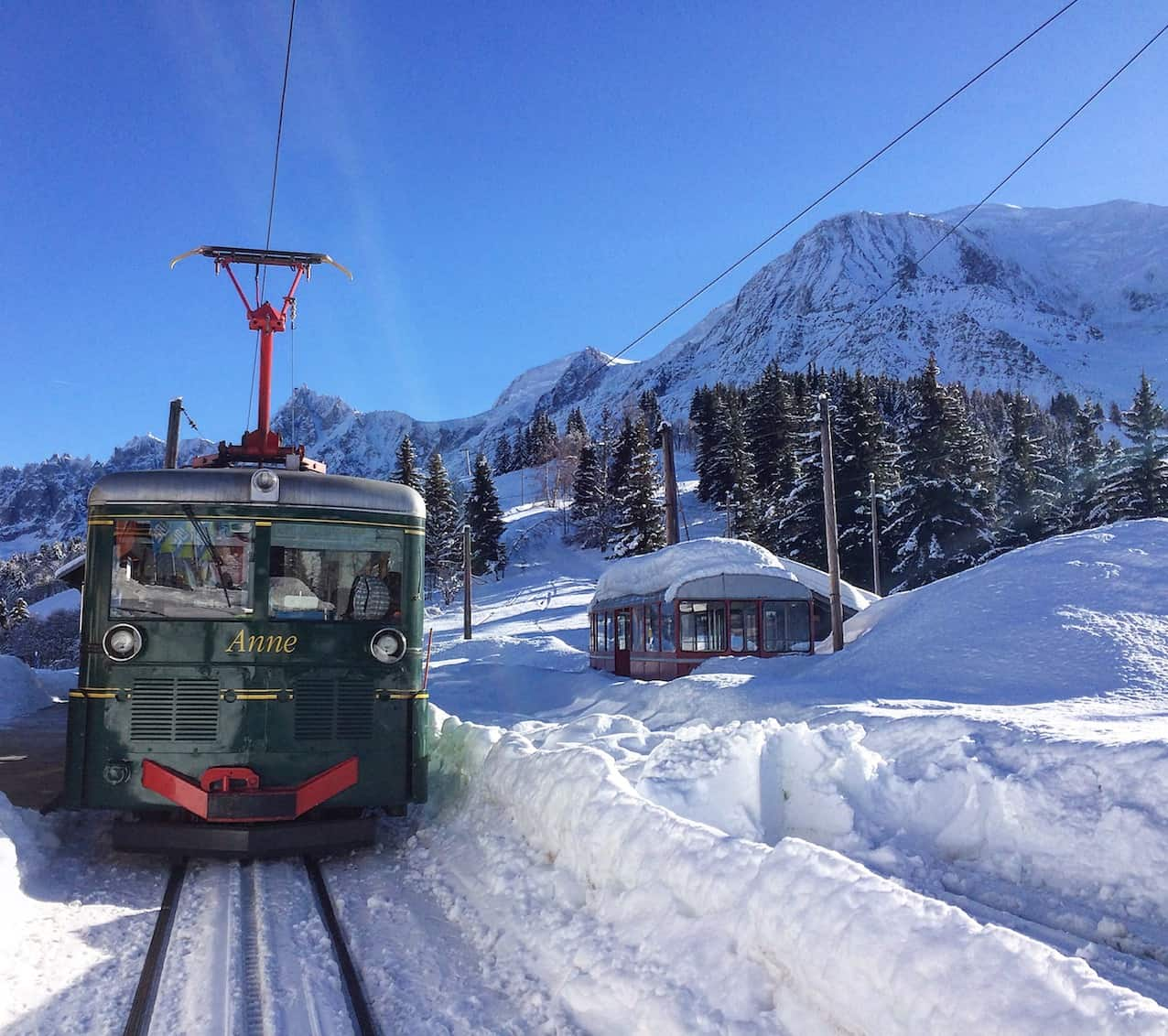 Mont Blanc train chamonix for non skiers