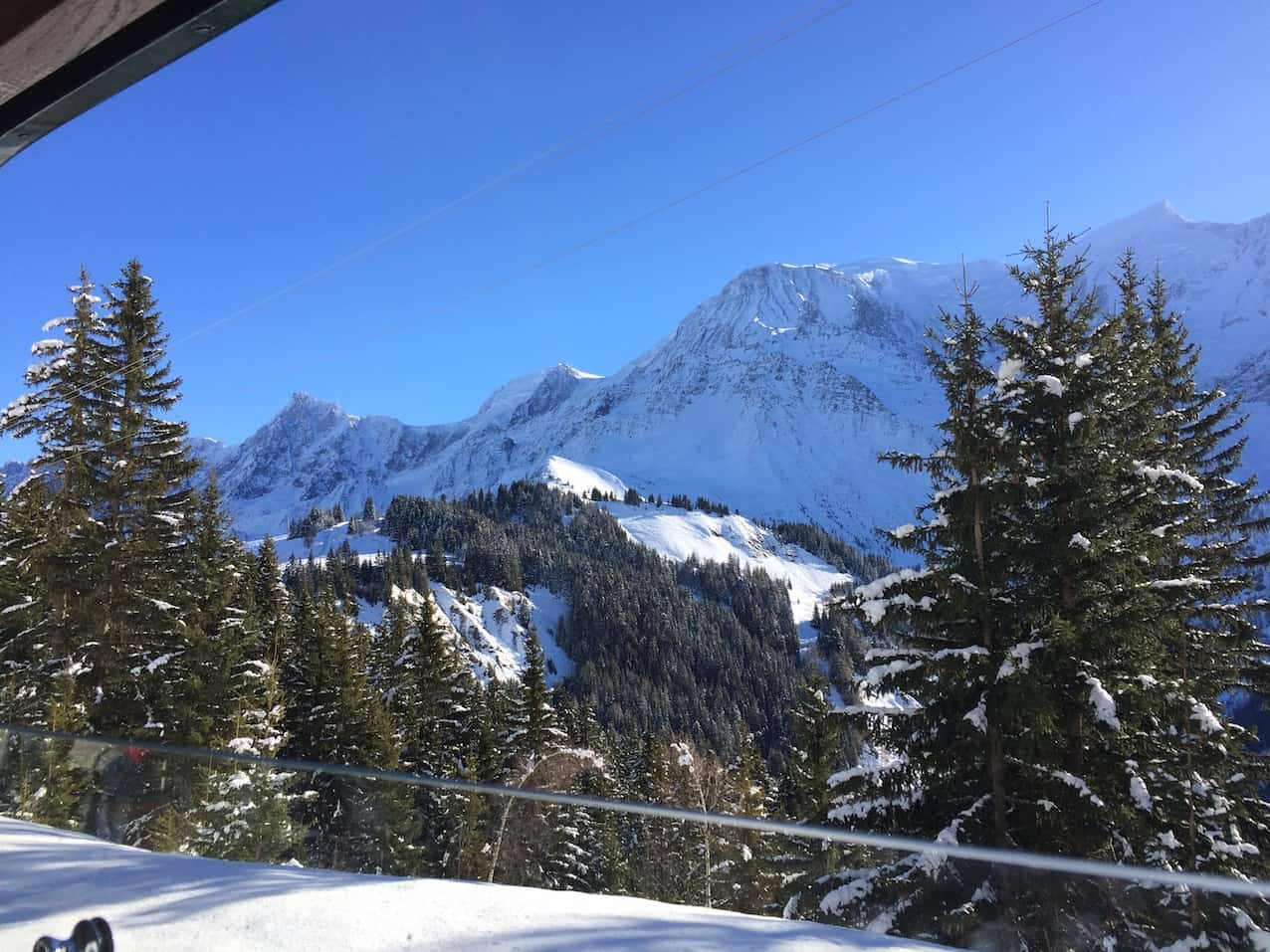 Mont Blanc Tramway to Les Houches, Chamonix for non skiers