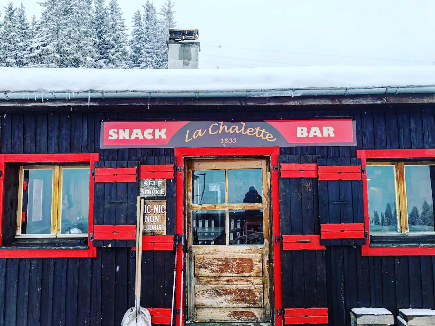 les houches restaurants