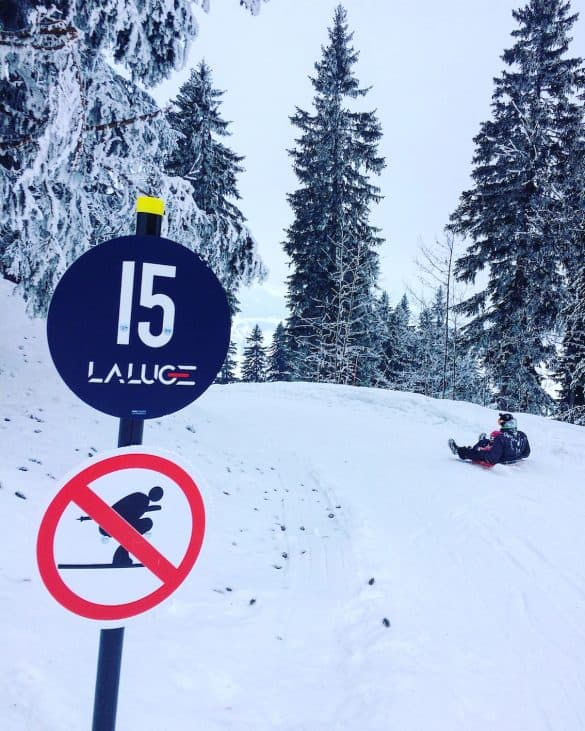 luge run megeve