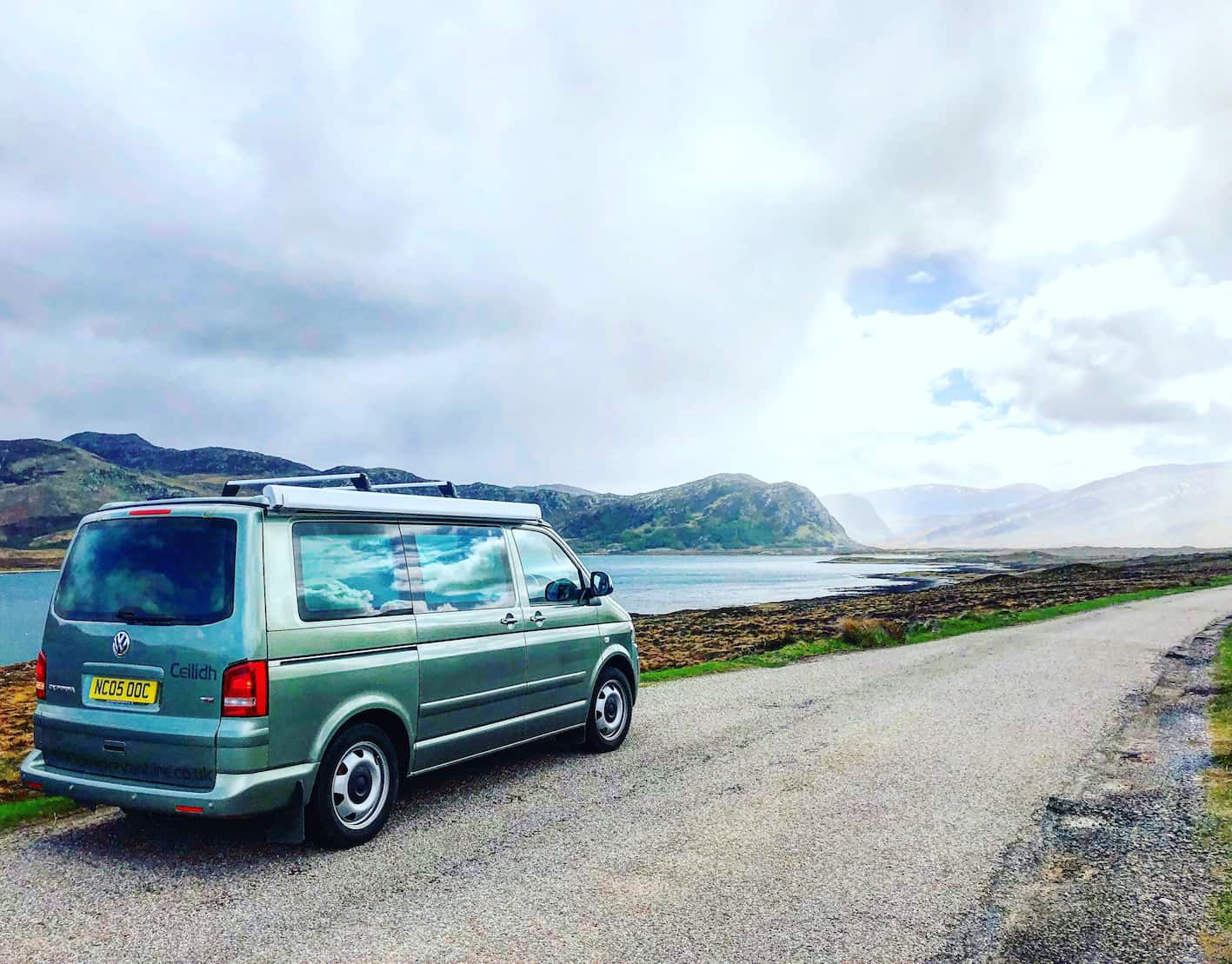 Campervan Hire Inverness drive the NC500 in style The
