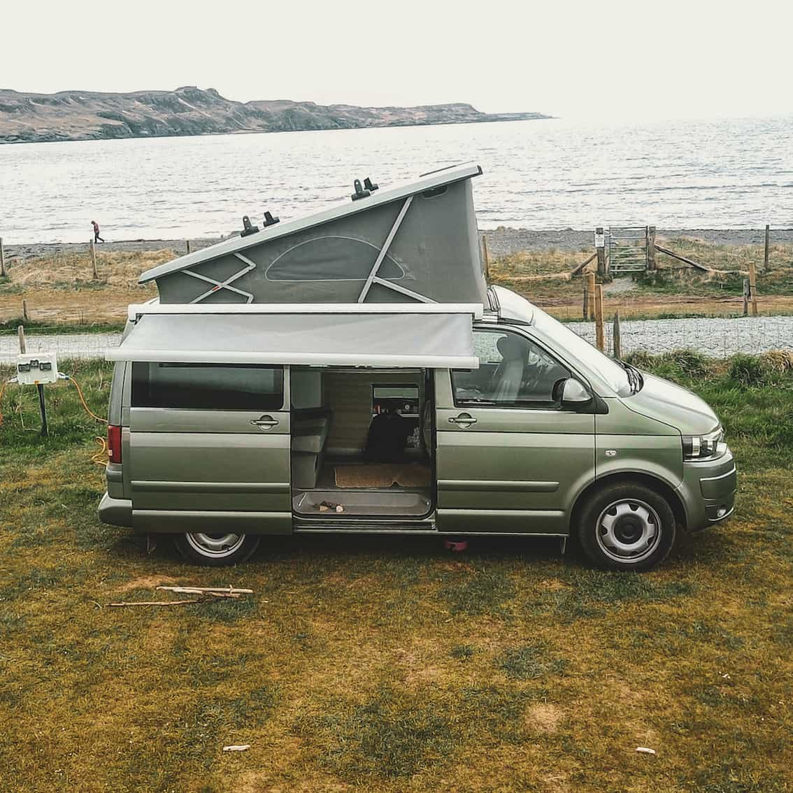 vw campervan hire Inverness