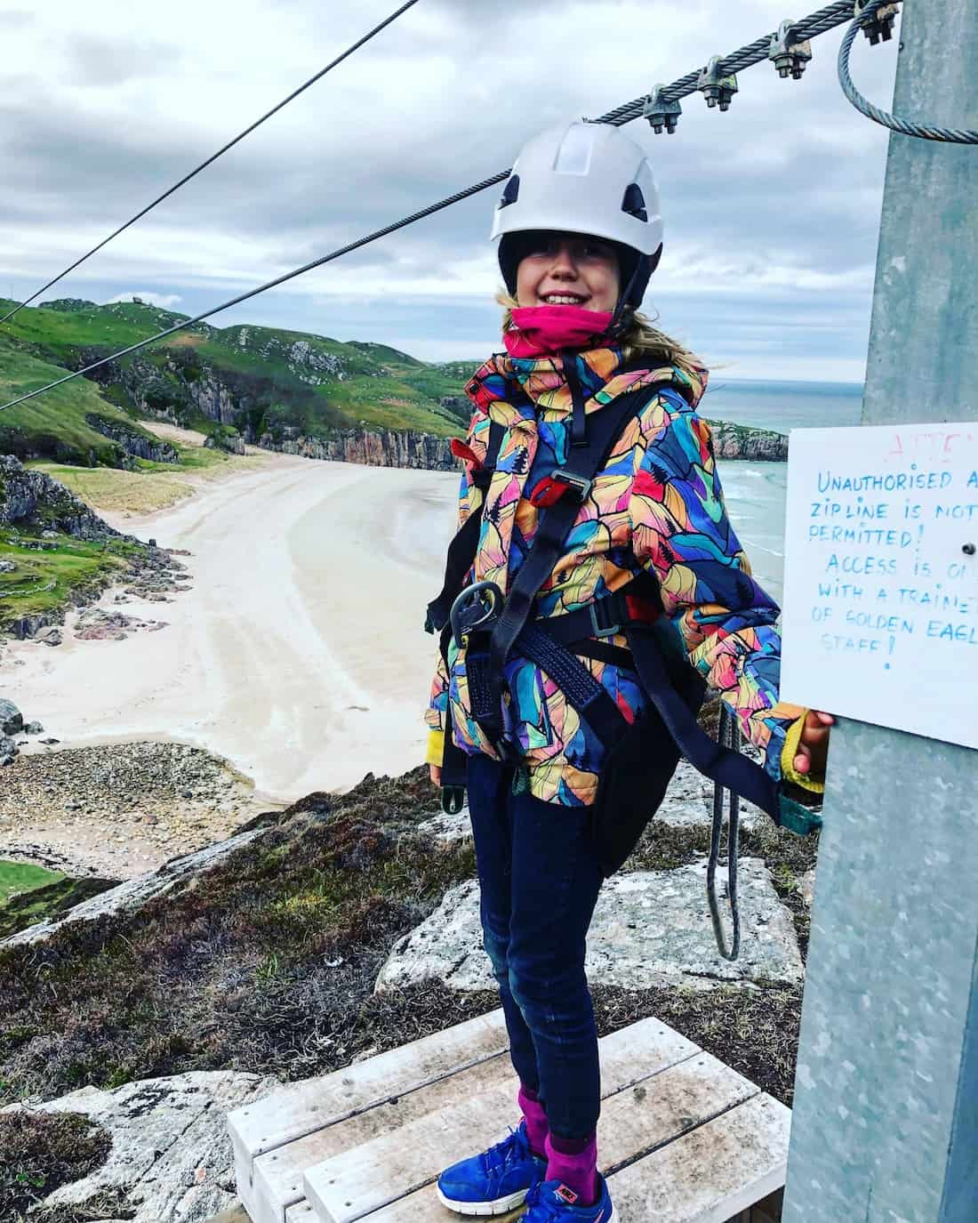 most northerly zipline in the uk