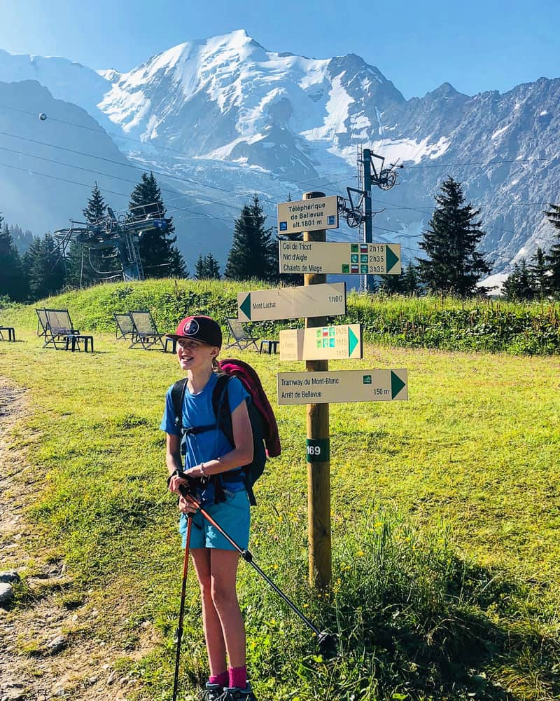 hiking the tour de mont blanc