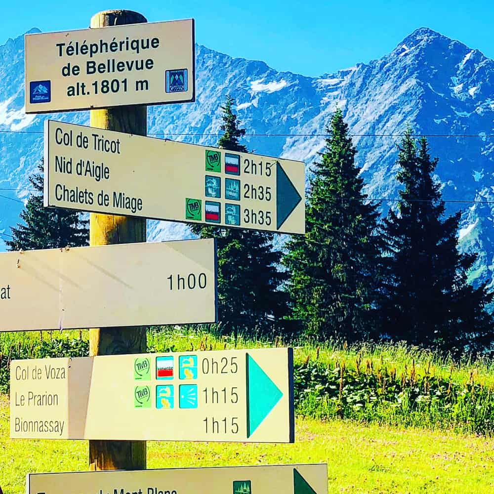 TMB signposts