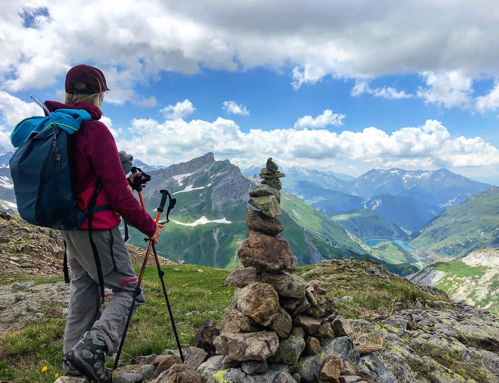 trekking the tour du Mont Blanc with kids