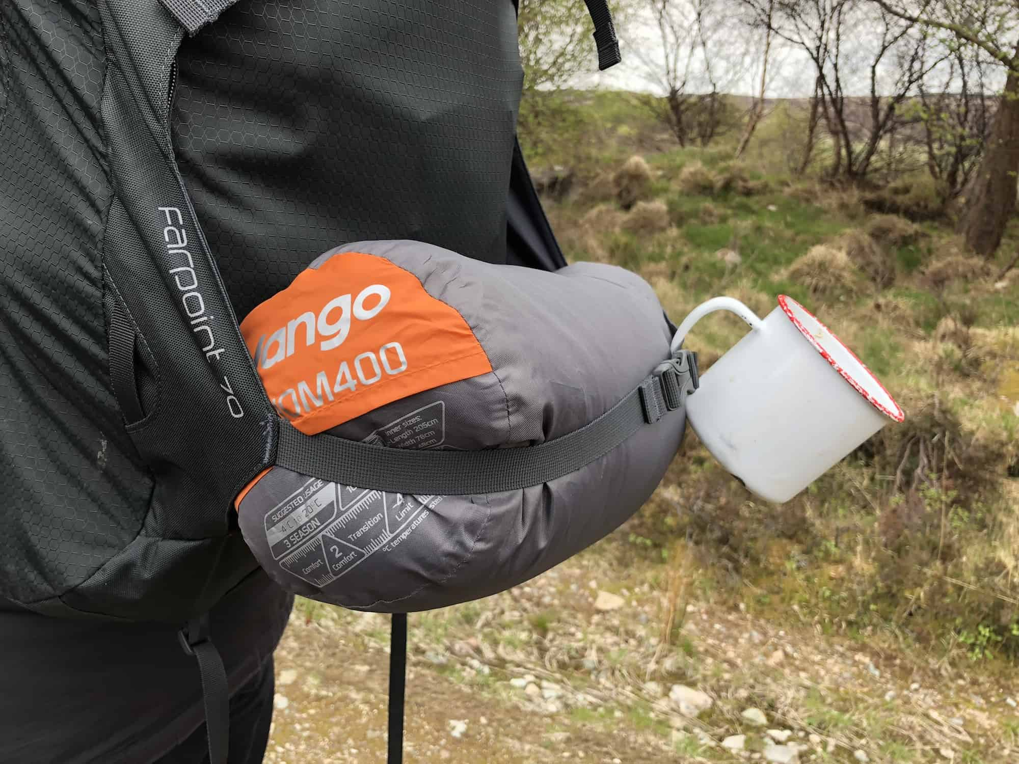 64db81f2823 The Venom 400 is pretty lightweight coming in at only 950g thanks to the  down filling. Similar temperature rated synthetic sleeping bags would be  twice the ...