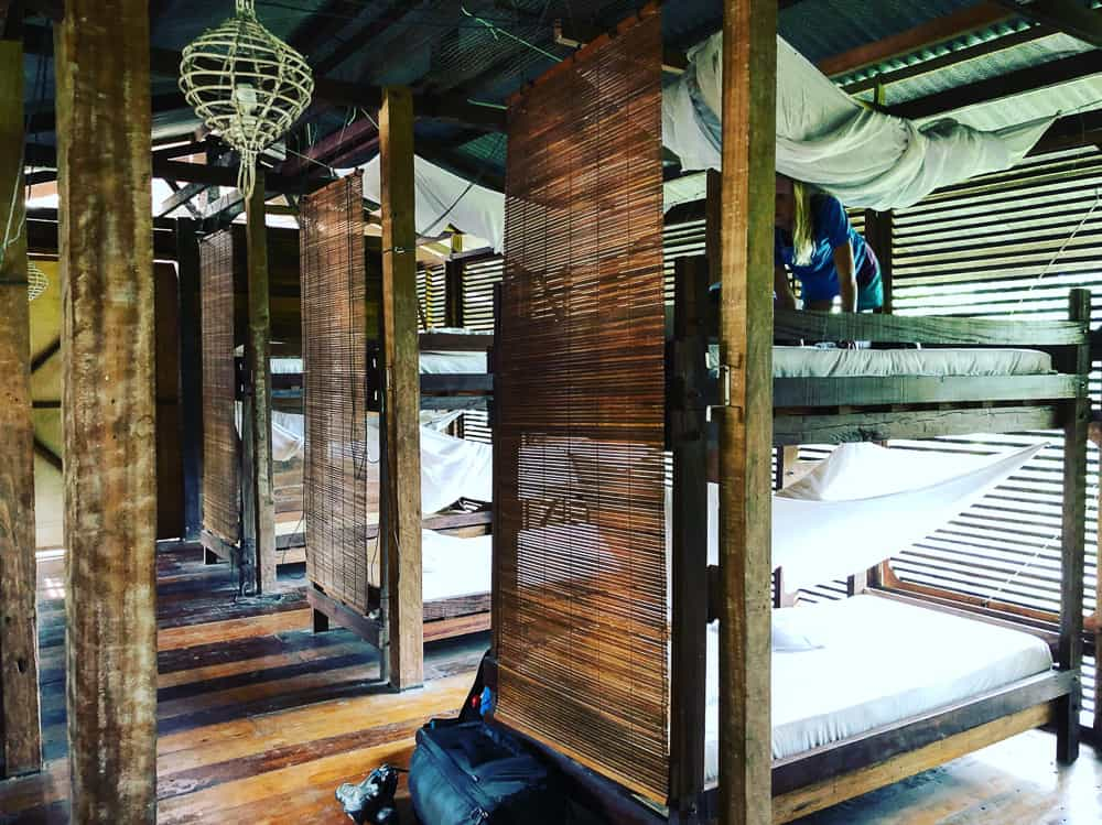 traditional longhouse dorm