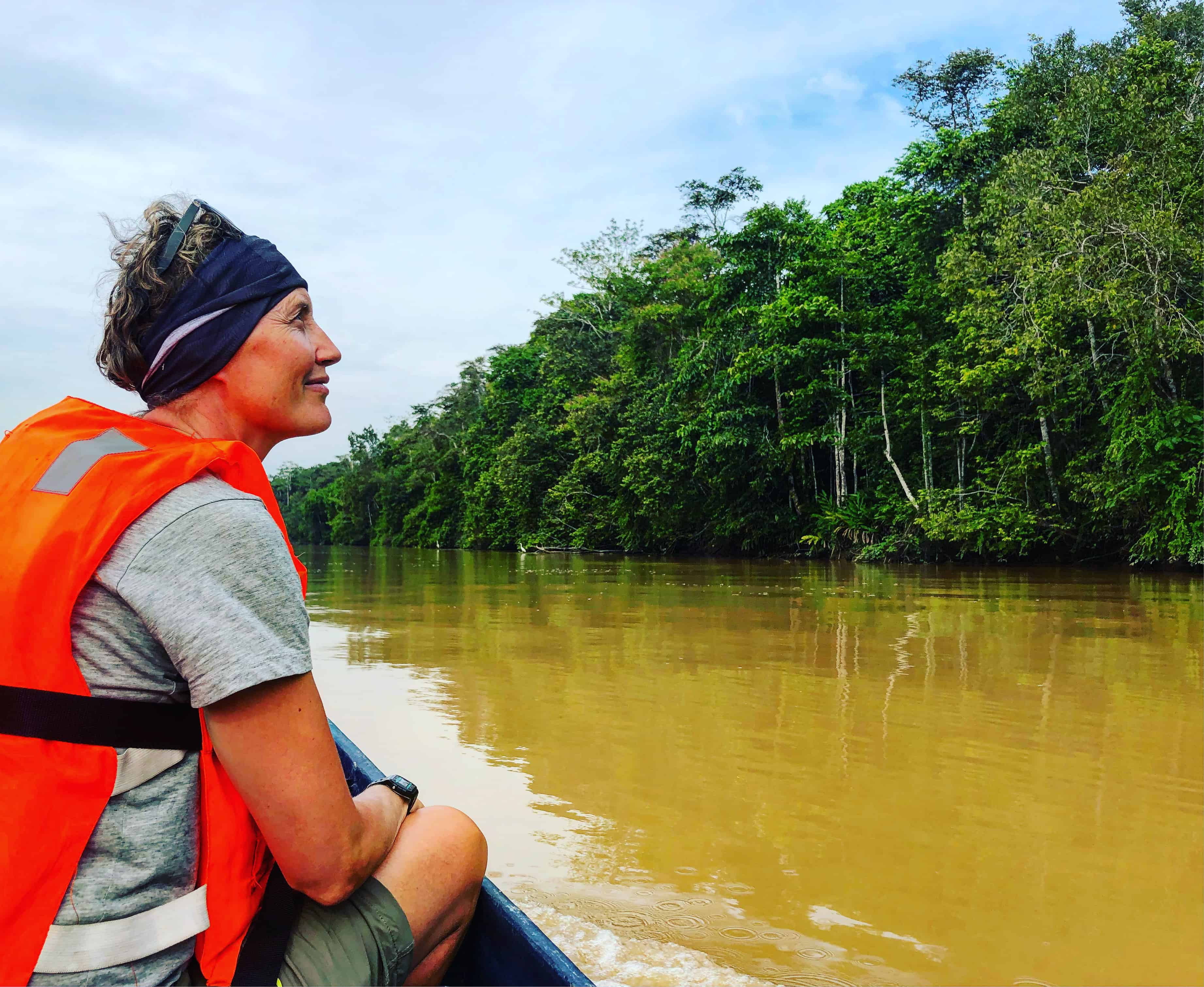 wildlife spotting Kinabatangan river