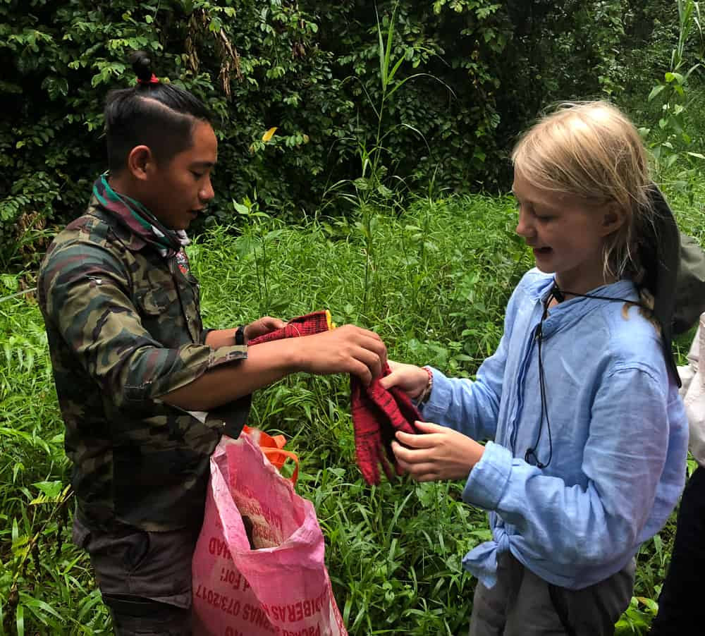 rainforest conservation volunteering