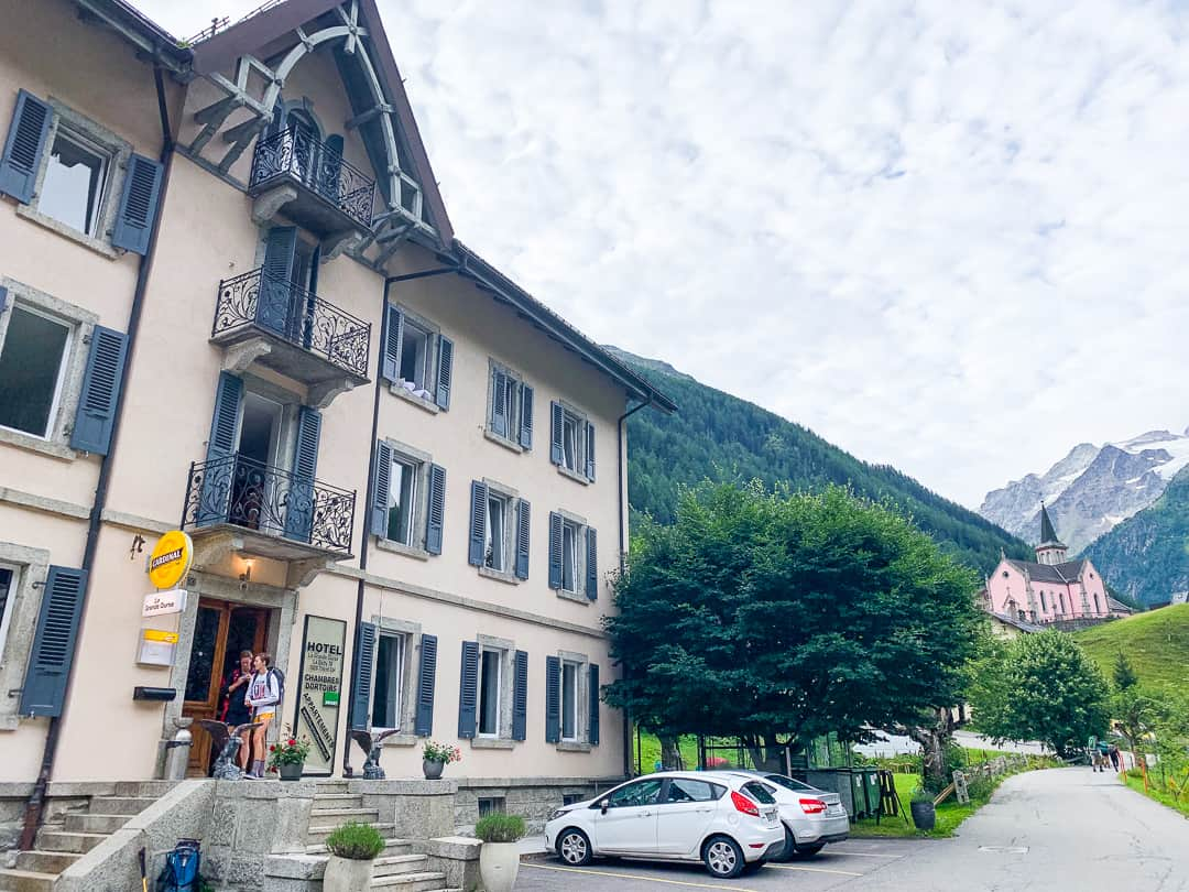 tour du mont blanc accommodation trient