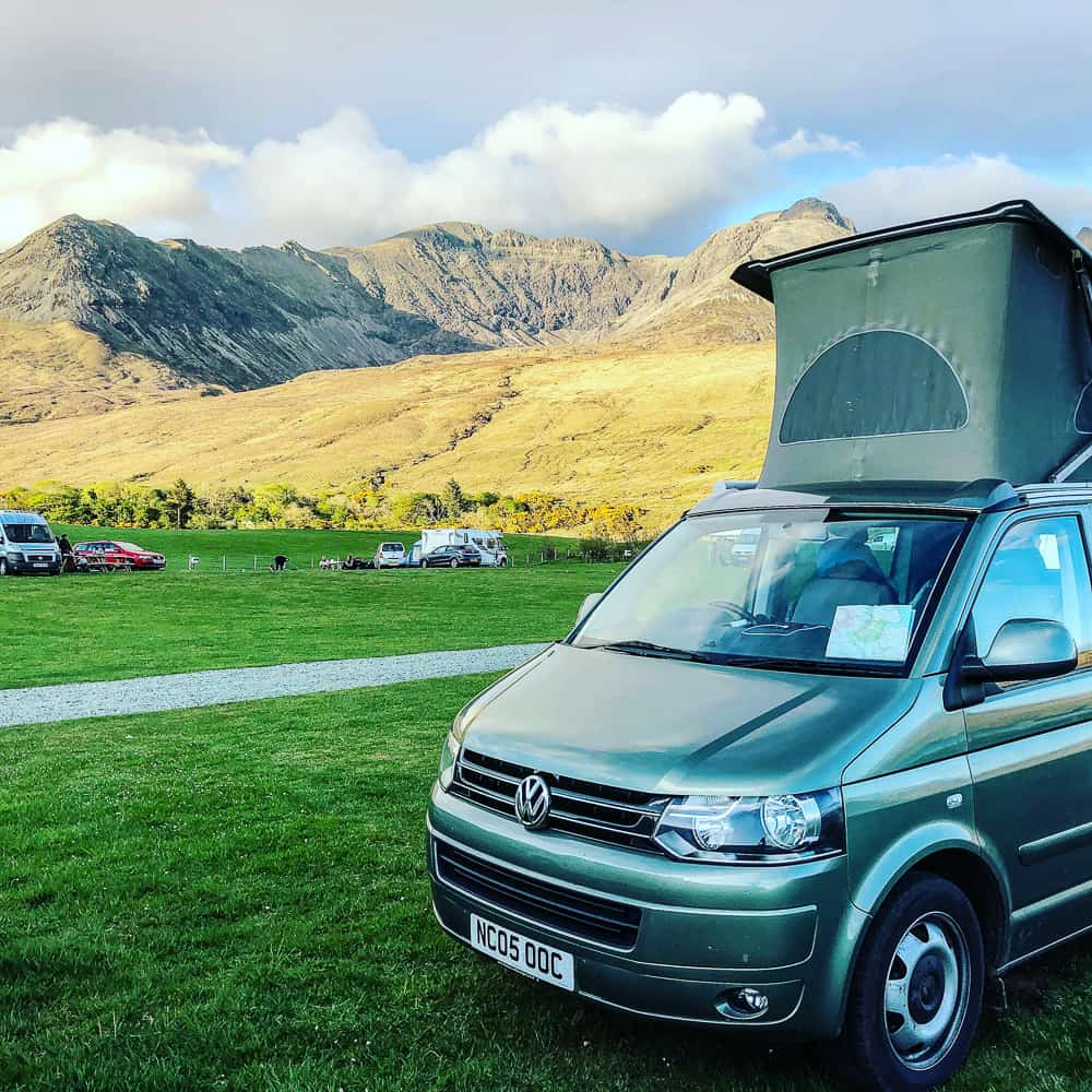 campervan hire Inverness Scotland