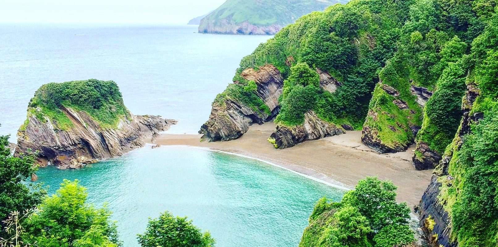 best beaches in north devon - broadsands
