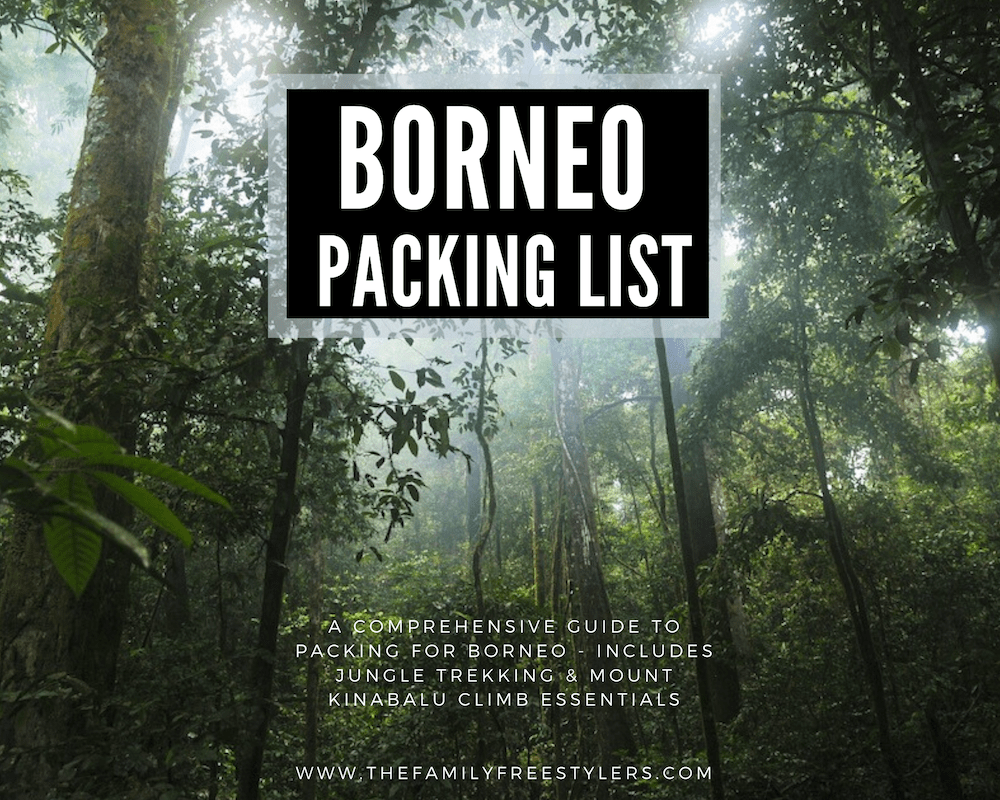 borneo clothing
