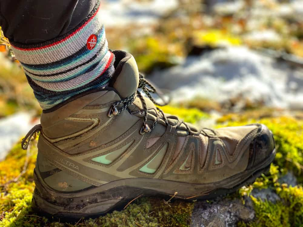 Salomon X ULTRA 3 MID GTX Womens Hiking Boots REVIEW