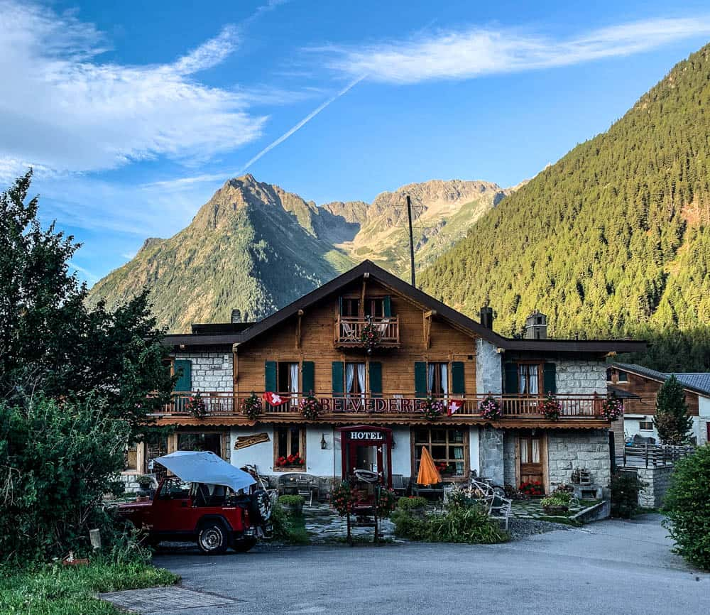 accommodation in Champex-Lac