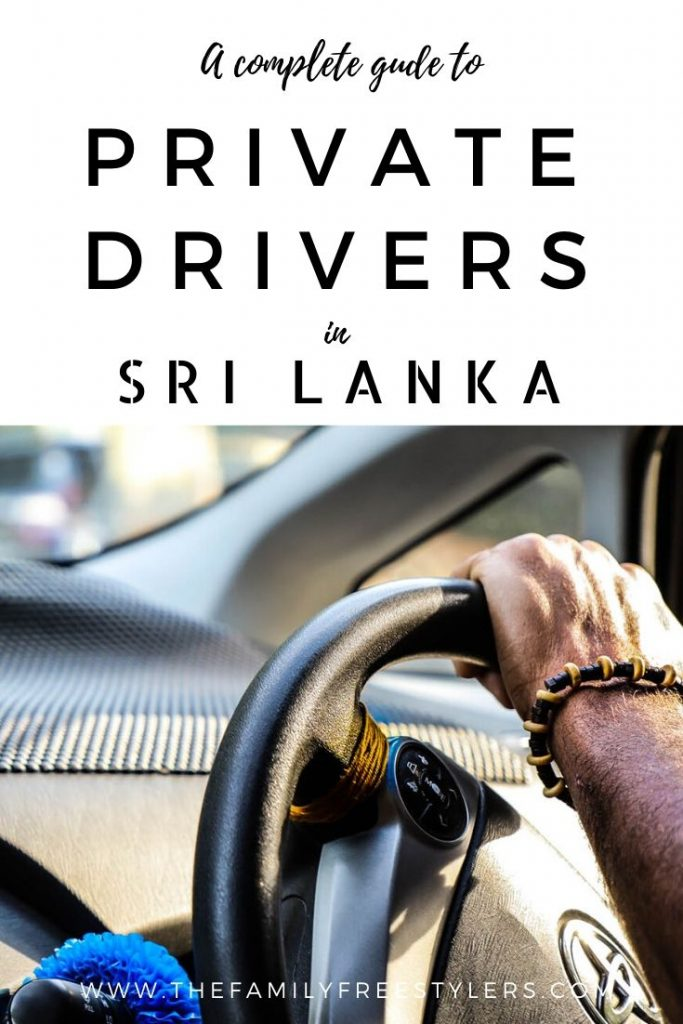 private drivers in Sri Lanka